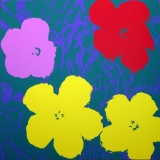 Andy Warhol - Flowers II.65 Sunday B. Morning screenprint