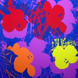 Andy Warhol - Flowers II.66 Sunday B. Morning screenprint