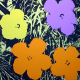 Andy Warhol - Flowers II.67 Sunday B. Morning screenprint