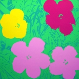 Andy Warhol - Flowers II.68 Sunday B. Morning screenprint