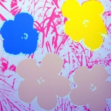 Andy Warhol - Flowers II.70 Sunday B. Morning screenprint