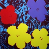 Andy Warhol - Flowers II.71 Sunday B. Morning screenprint