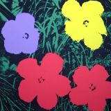 Andy Warhol - Flowers II.73 Sunday B. Morning screenprint
