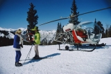 Slim Aarons - Snowmass Village Helicopter