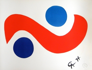 Alexander Calder - Braniff Airlines 2 Designs created for Braniff Airlines aircraft.