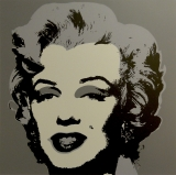 "Andy Warhol - Marilyn Monroe Grey - Sunday B. Morning screenprint after Andy Warhol. Stamped on verso ""published by Sunday B. Morning"" and ""fill in your own signature""."