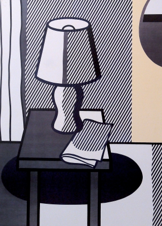 Roy Lichtenstein - Still Life with Table Lamp Original edition on premium paper 1995 published by Plaizier Brussels
